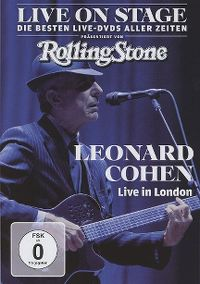 Cover Leonard Cohen - Live In London [DVD]